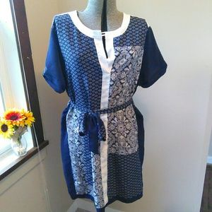 Daisy Fuentes Patch work Dress!